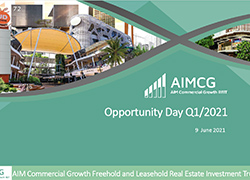 Opportunity Day Q1/2021