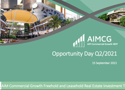 Opportunity Day Q2/2021